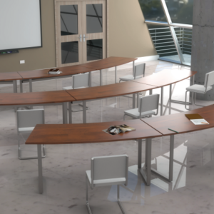 Curved Training Table