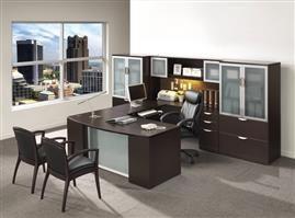 Executive Step Front U-Shape Desk – Suite PL17