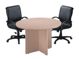 48″ Round Conference Table