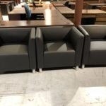 used lounge seating in warehouse of Superior Office Services Nashville, TN