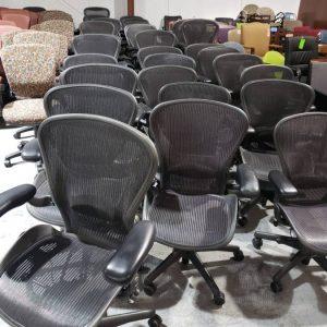 Aerons Chairs (used)