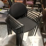 Stacking Office Furniture Chairs (used)