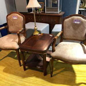 Leather Guest Seating (used)