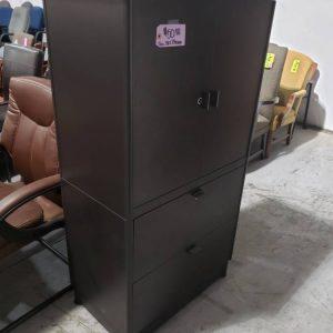 Grey Storage Cabinet (used)