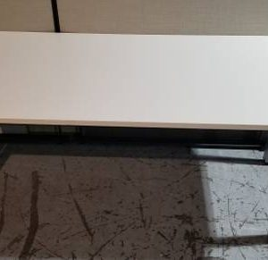 Office Table Desk with White Top (used)