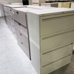 Lateral File – 4 Drawers (used)