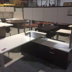 Modern L-Shaped Desk (used)