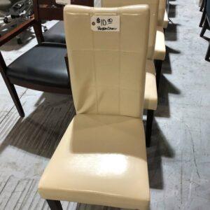 Cream Parson Chair (used)