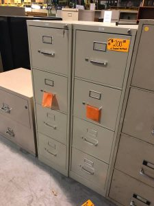 4 Drawer Vertical Office Filing Cabinet (used) in Nashville, TN