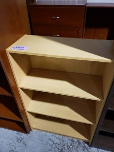 Short Maple Bookcase