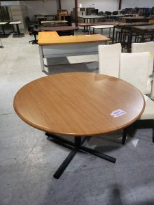 Maple Round Office conference Table