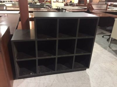 black cubbies used office furniture nashville bookcases storage superior office services