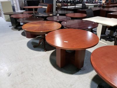 conference tables round used office furniture superior office services nashville tn