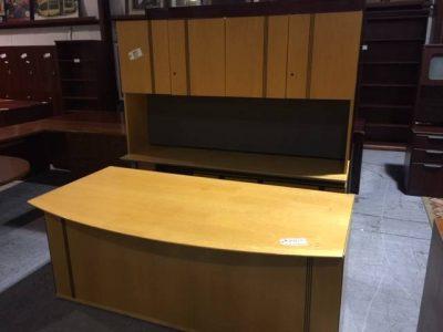 oak desk set used office furniture nashville superior office services