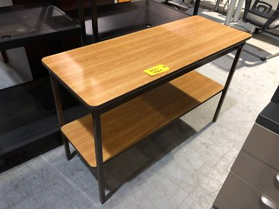 Two Tier Table Used Nashville Office Furniture